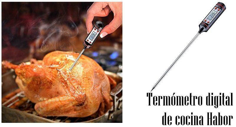 Termómetro digital de cocina Habor de reacción rápida