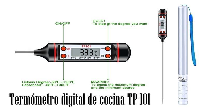 Mejores Termometros De Cocina Esenziale Termómetro digital para cocina barbacoa. mejores termometros de cocina esenziale