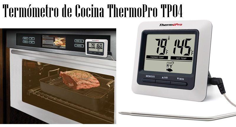 Mejores term metros de cocina esenziale for Termometro cocina profesional