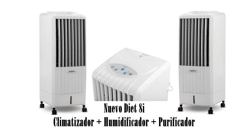 Nuevo Diet 8i - Climatizador + Humidificador + Purificador