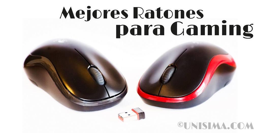 Mejores ratones de gaming para jugar