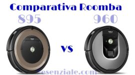 Comparativa Roomba 895 vs 960