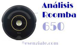 Análisis del Roomba 650 de iRobot – El aspirador rey de la gama media