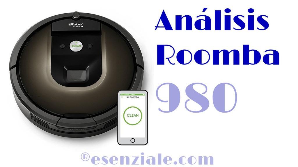 Análisis Roomba 980