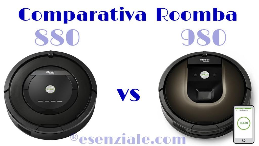 Comparativa Roomba 880 vs 980