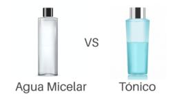 Agua micelar o tónico facial ¿Sabes cuándo y cómo utilizarlos?
