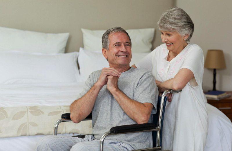 Personas mayores con movilidad reducida